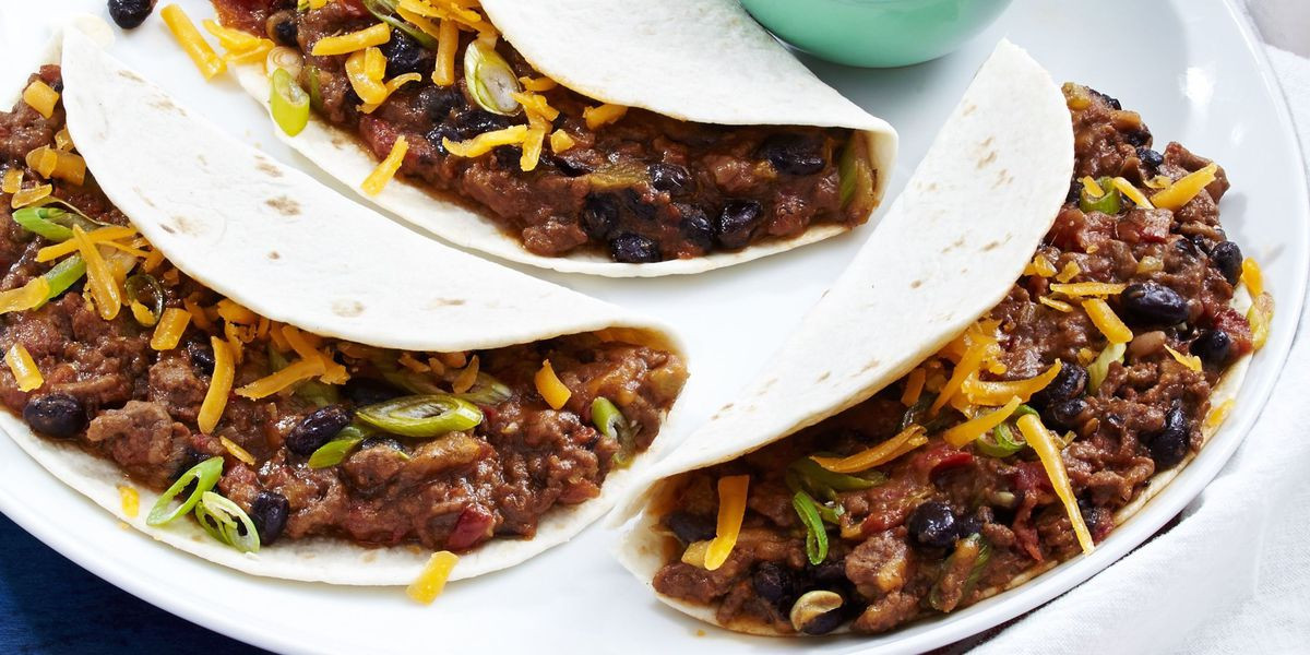 Healthy Ground Beef Tacos  Best Cheesy Ground Beef Tacos Recipe How to Make Cheesy