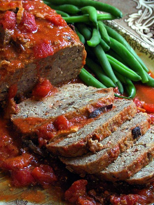 Healthy Ground Bison Recipes  Bison Recipes Ground Bison Meat Loaf Healthy fort