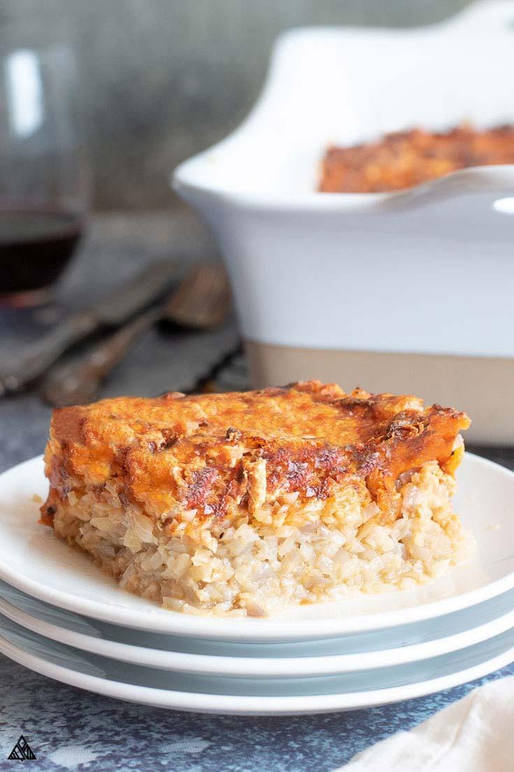 Healthy Ground Chicken Casserole  Ground Chicken Casserole Healthy Low Carb • Little