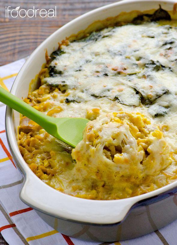 Healthy Ground Chicken Casserole  37 best Healthy Casseroles Recipes images on Pinterest
