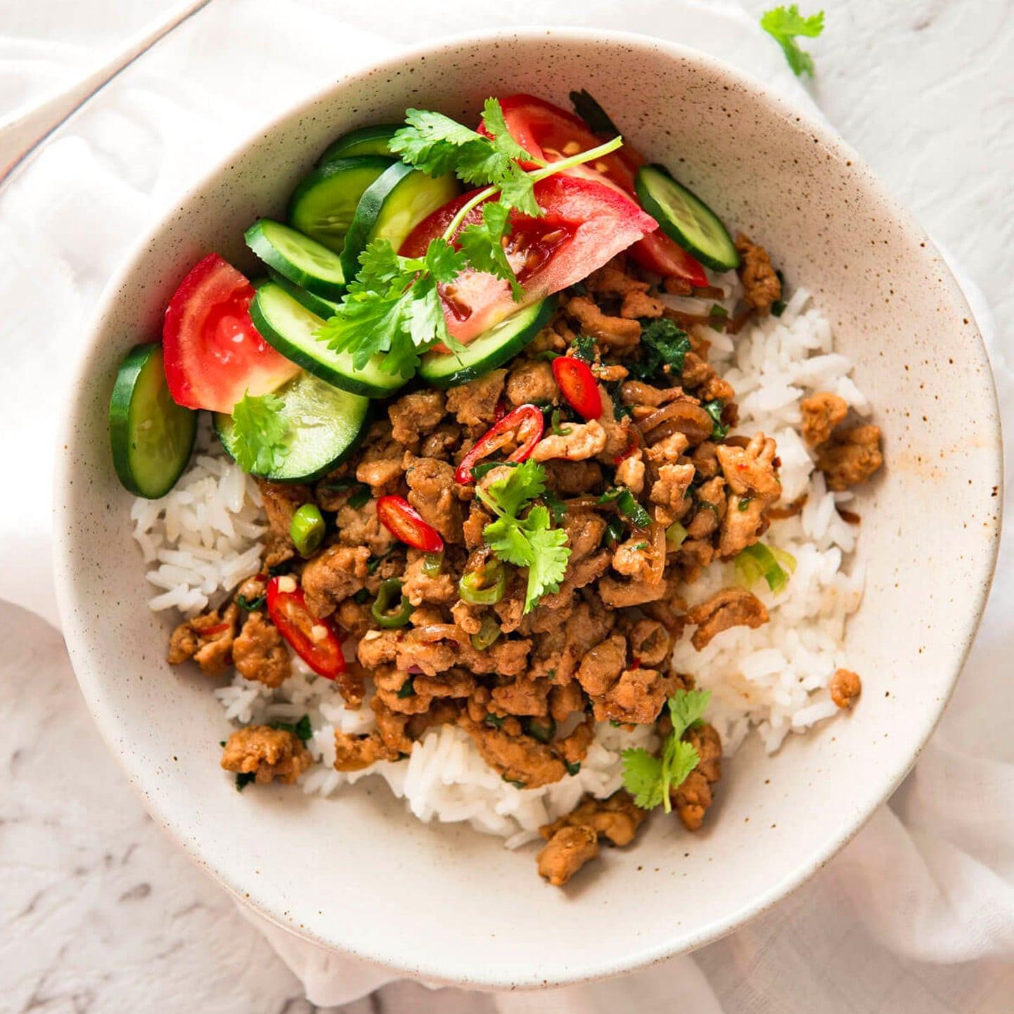 Healthy Ground Pork Recipes  healthy recipes chicken