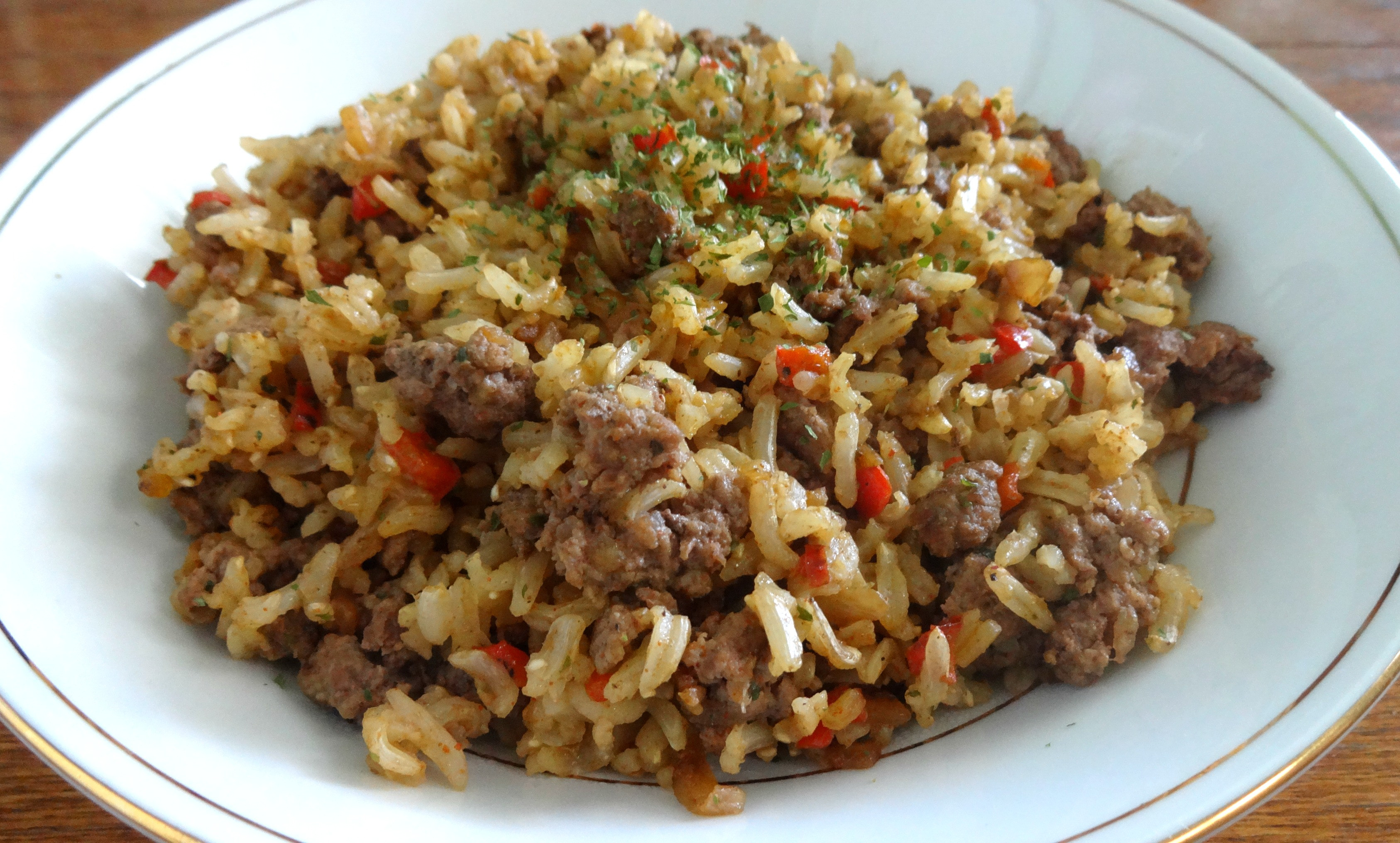 Healthy Ground Pork Recipes  ground beef and rice recipes healthy
