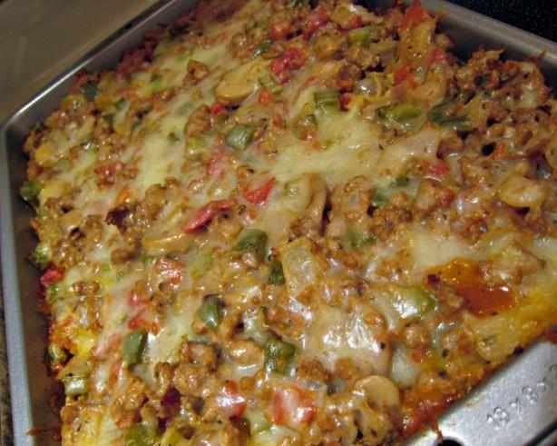 Healthy Ground Turkey Casserole  ground turkey casserole recipes