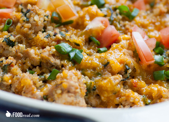 Healthy Ground Turkey Casserole  healthy ground turkey casserole
