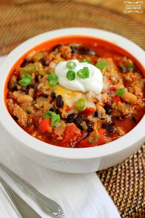 Healthy Ground Turkey Chili  Healthy Turkey Chili Recipe