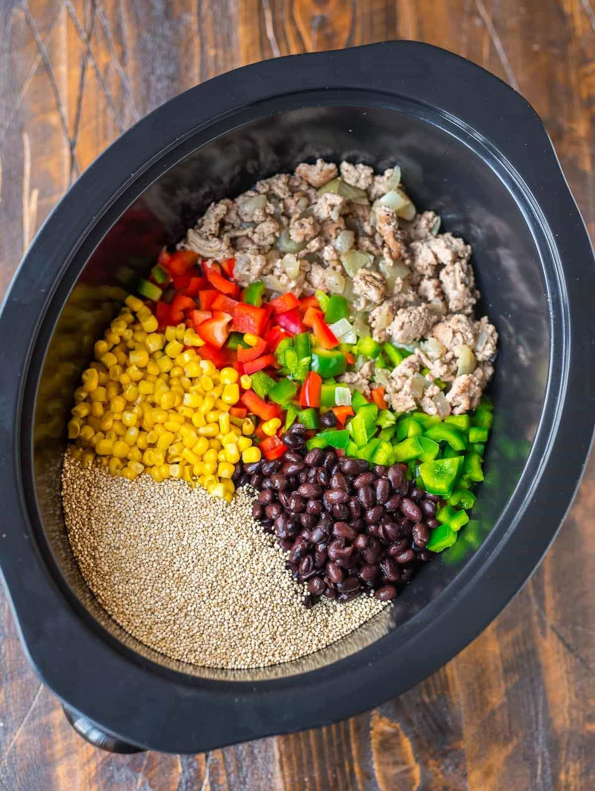 Healthy Ground Turkey Crock Pot Recipes  Crock Pot Mexican Casserole