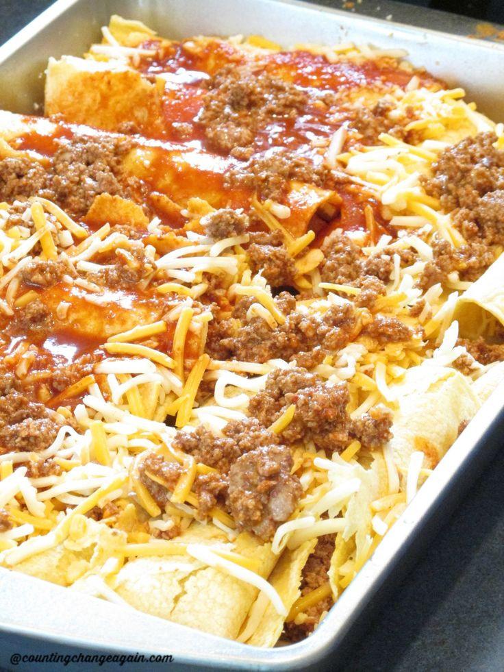 Healthy Ground Turkey Enchiladas  1000 ideas about Ground Turkey Enchiladas on Pinterest