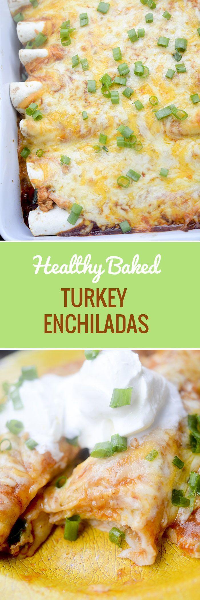Healthy Ground Turkey Enchiladas  Best 25 Baked turkey burgers ideas on Pinterest
