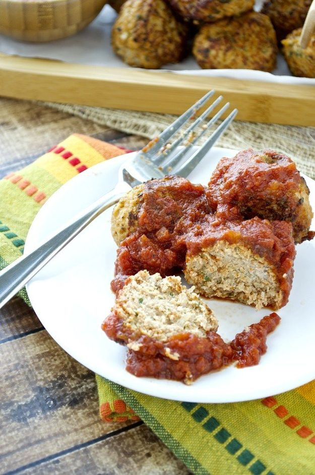 Healthy Ground Turkey Meatballs  13 Delicious and Healthy Ground Turkey Recipes Total