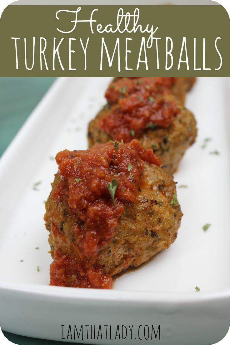 Healthy Ground Turkey Meatballs  17 Best ideas about Healthy Turkey Meatballs on Pinterest