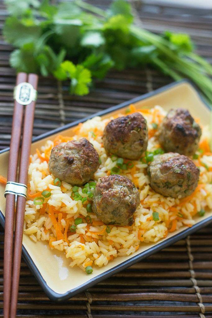 Healthy Ground Turkey Meatballs  11 best images about dinner ground turkey on Pinterest