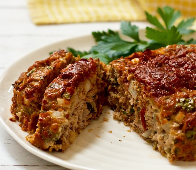 Healthy Ground Turkey Meatloaf  Mexican meatloaf Family Food on the Table