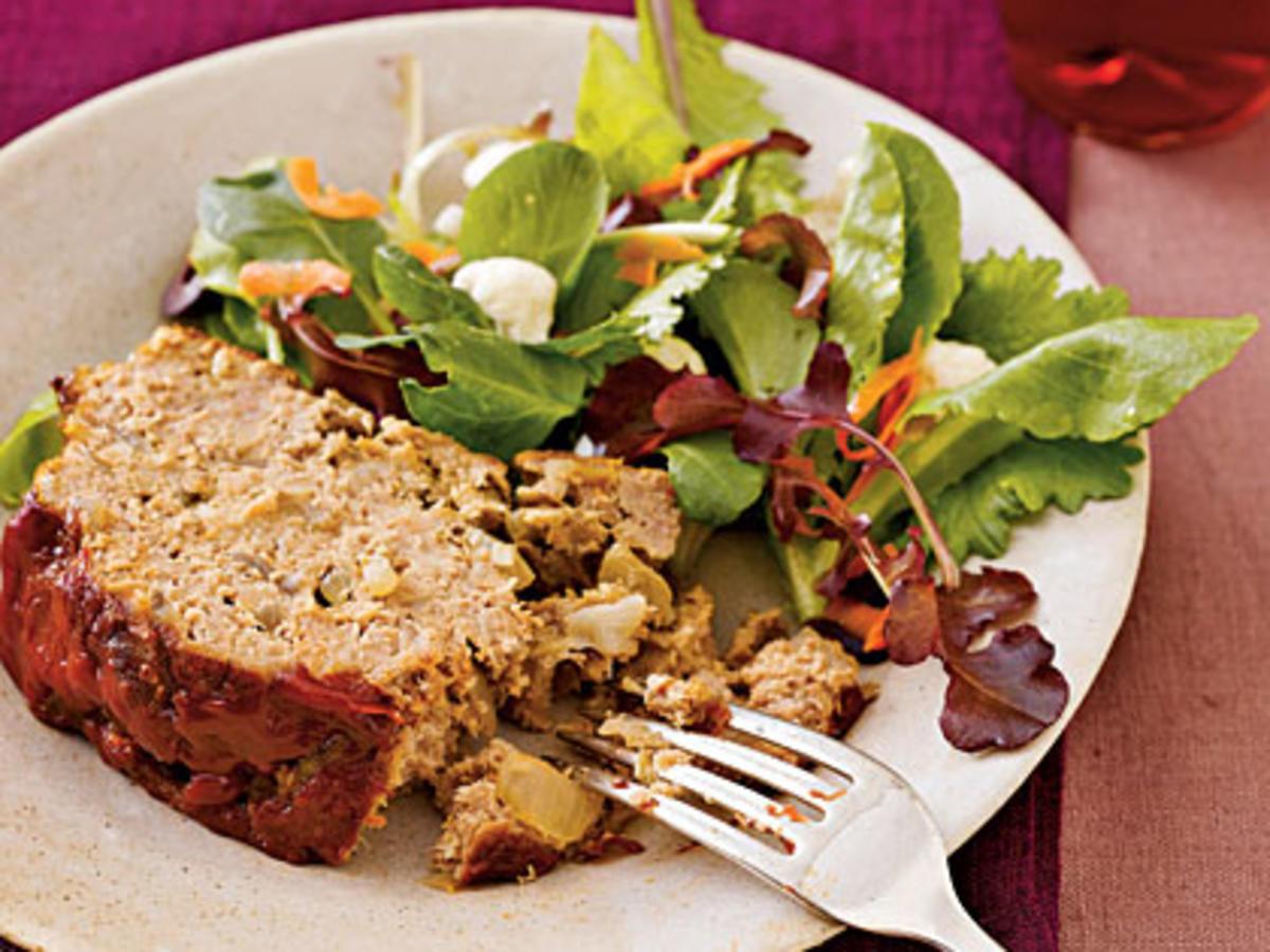 Healthy Ground Turkey Meatloaf  Turkey Meatloaf Recipe