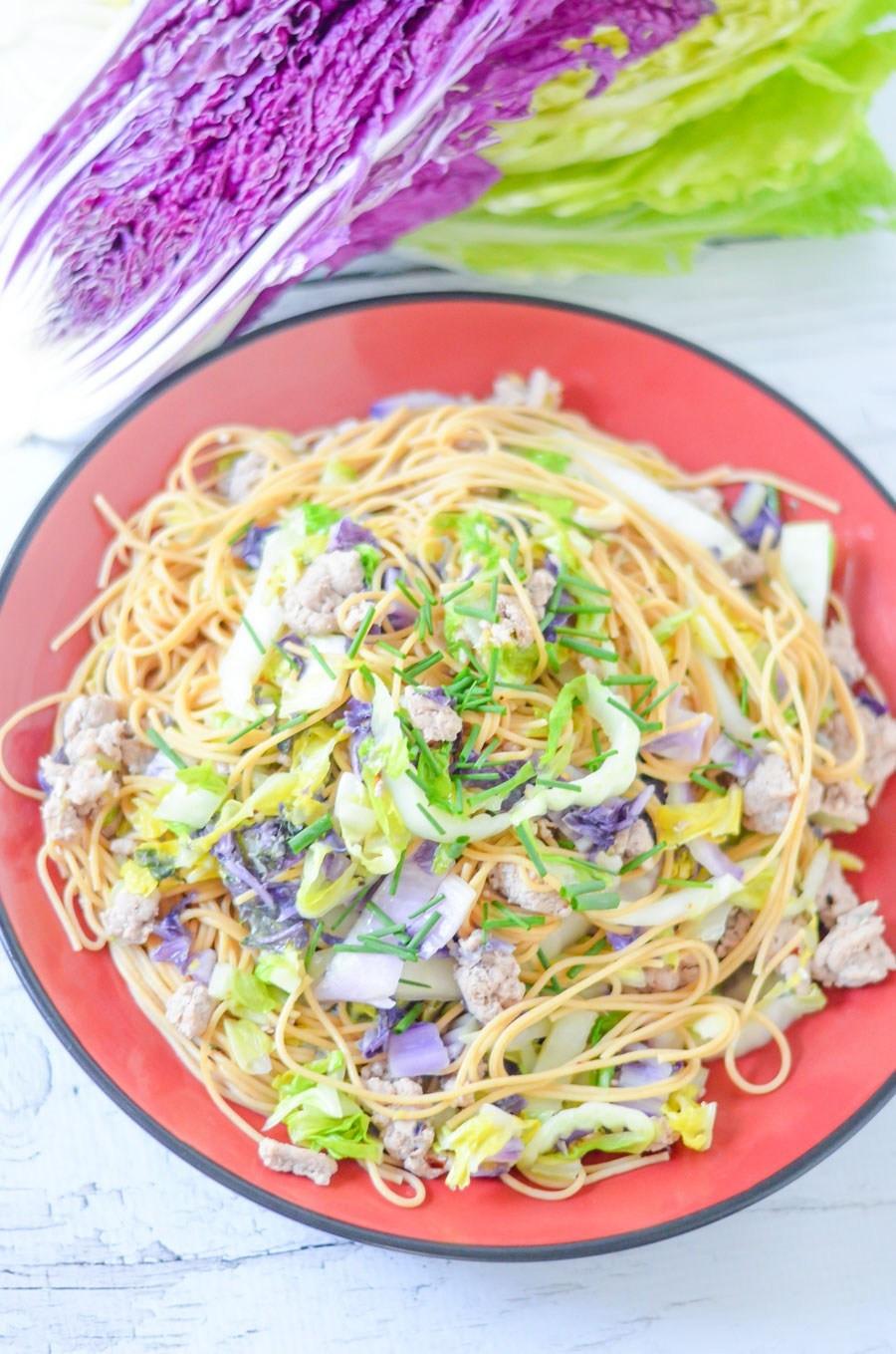 Healthy Ground Turkey Pasta Recipes  Cabbage and Pasta