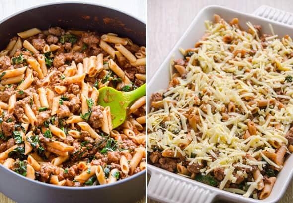 Healthy Ground Turkey Pasta Recipes  Turkey Pasta Bake iFOODreal Healthy Family Recipes