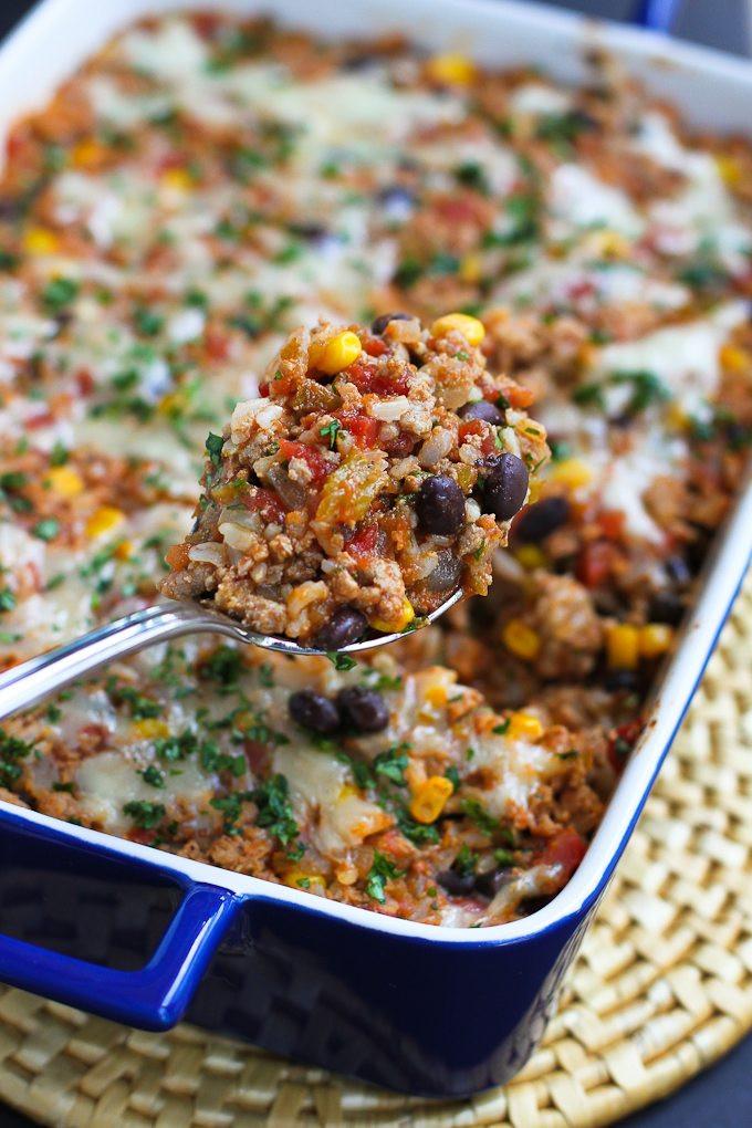 Healthy Ground Turkey Recipes  ground turkey casserole recipes