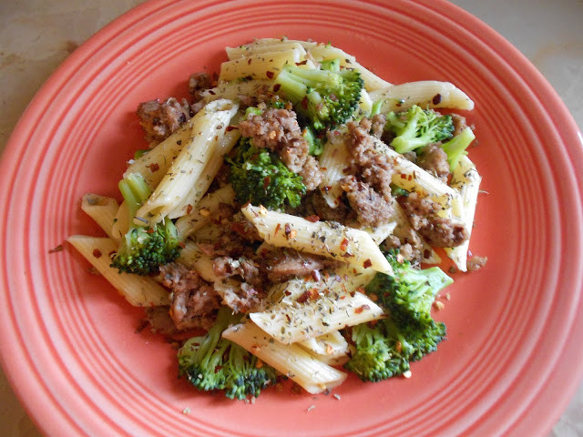 Healthy Ground Turkey Spaghetti Recipe  A Healthy Dinner Pasta With Ground Turkey and Broccoli