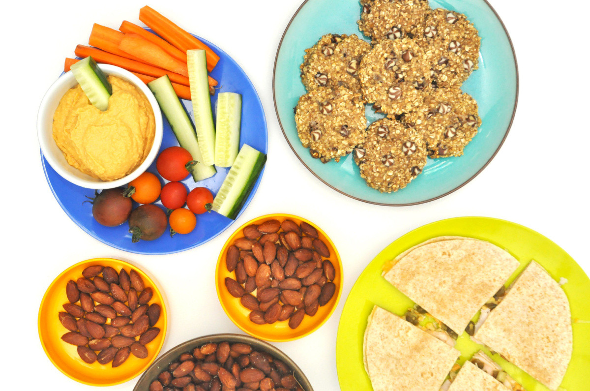 Healthy Group Snacks  Four healthy homemade afternoon snacks for kids