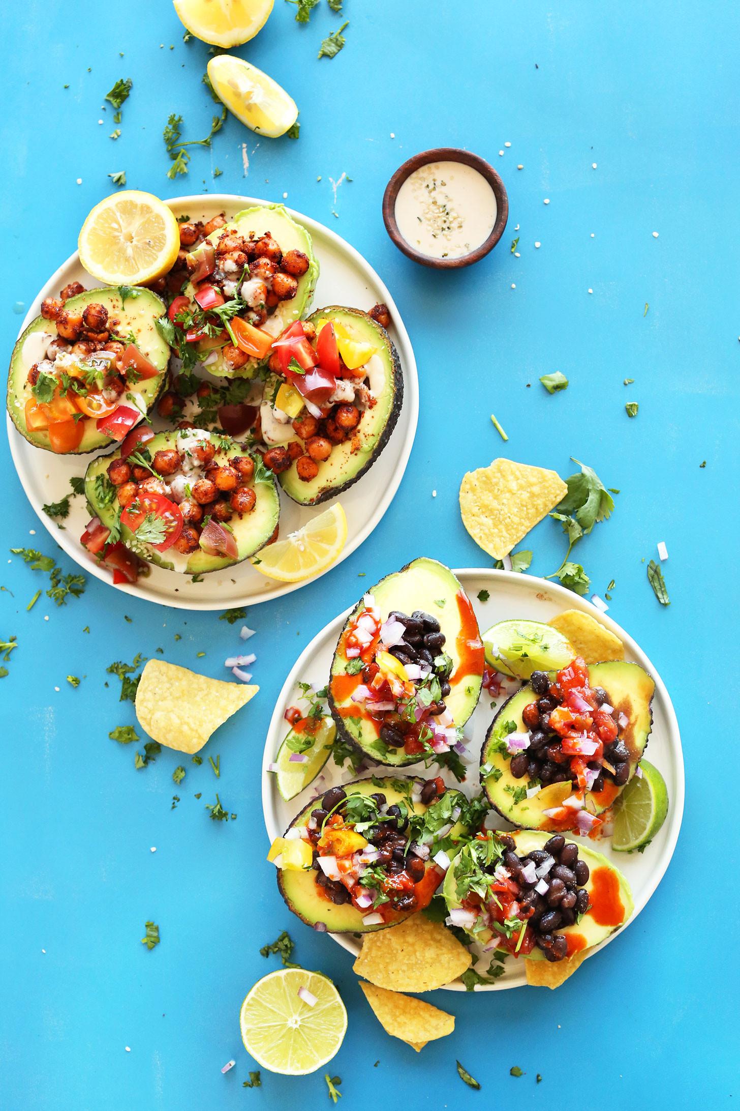 Healthy Guacamole Meals  Easy Avocado Boats