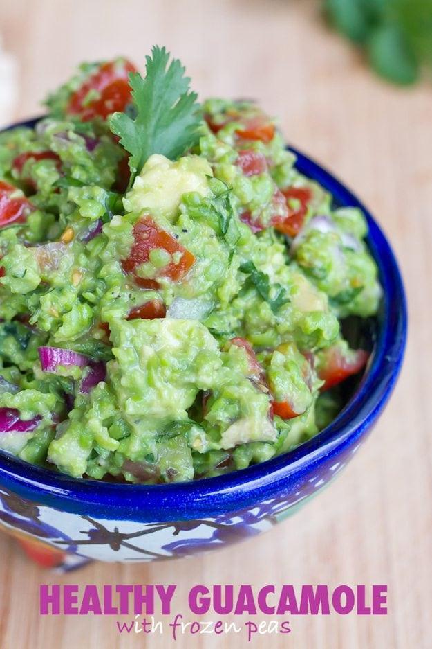 Healthy Guacamole Meals  Healthy Guacamole with Frozen Peas