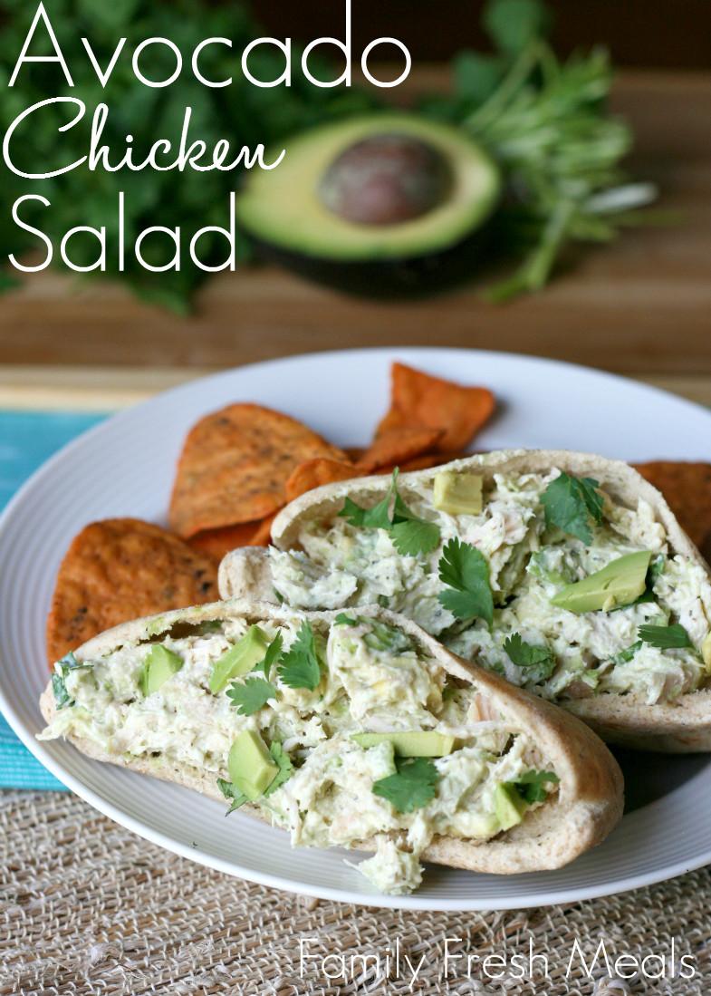 Healthy Guacamole Meals  Healthy Avocado Chicken Salad Family Fresh Meals