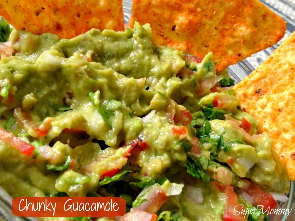 Healthy Guacamole Recipe  Chunky Guacamole Recipe A Healthy Food For Kids and Adults