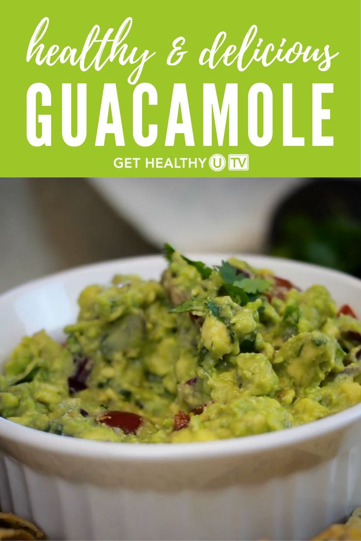 Healthy Guacamole Recipe  Check out our delicious homemade guacamole recipe It s