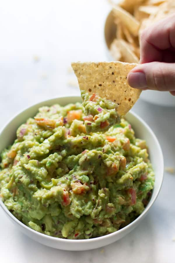 Healthy Guacamole Recipe  Easiest Guacamole Recipe Primavera Kitchen