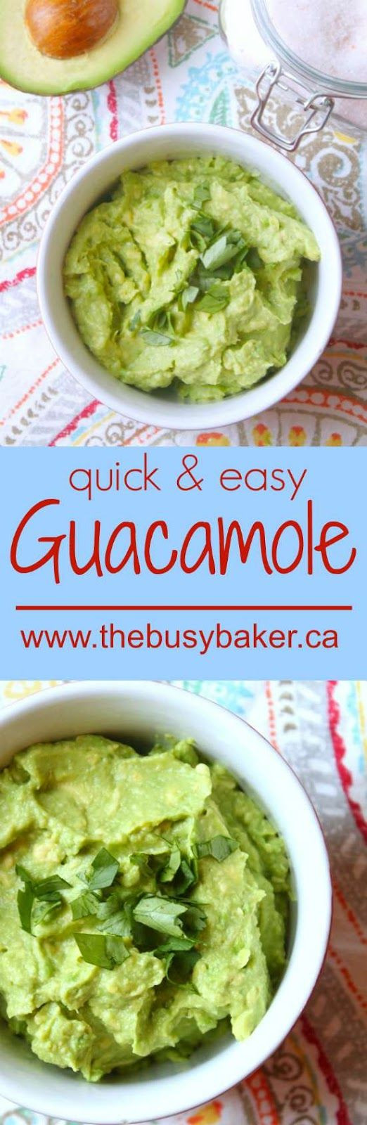 Healthy Guacamole Recipe  Best 25 Guacamole recipe ideas on Pinterest