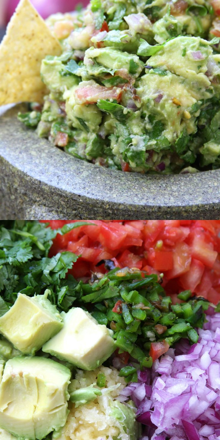 Healthy Guacamole Recipe  Best 25 Healthy guacamole recipe ideas on Pinterest