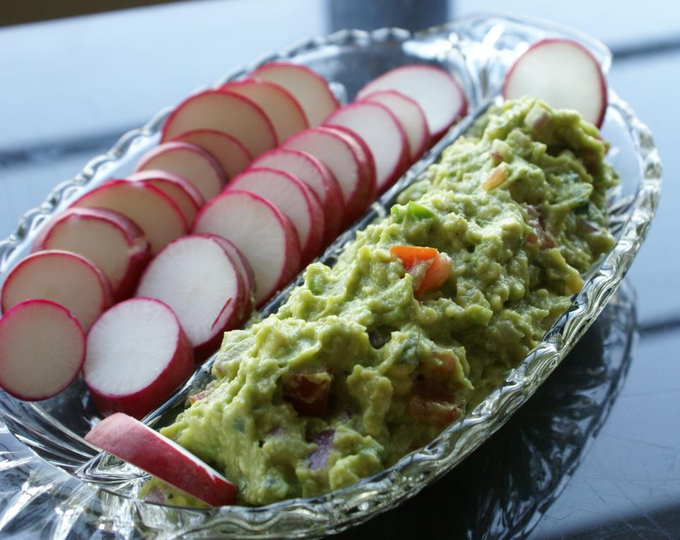 Healthy Guacamole Snacks  Healthy Chow on Pinterest