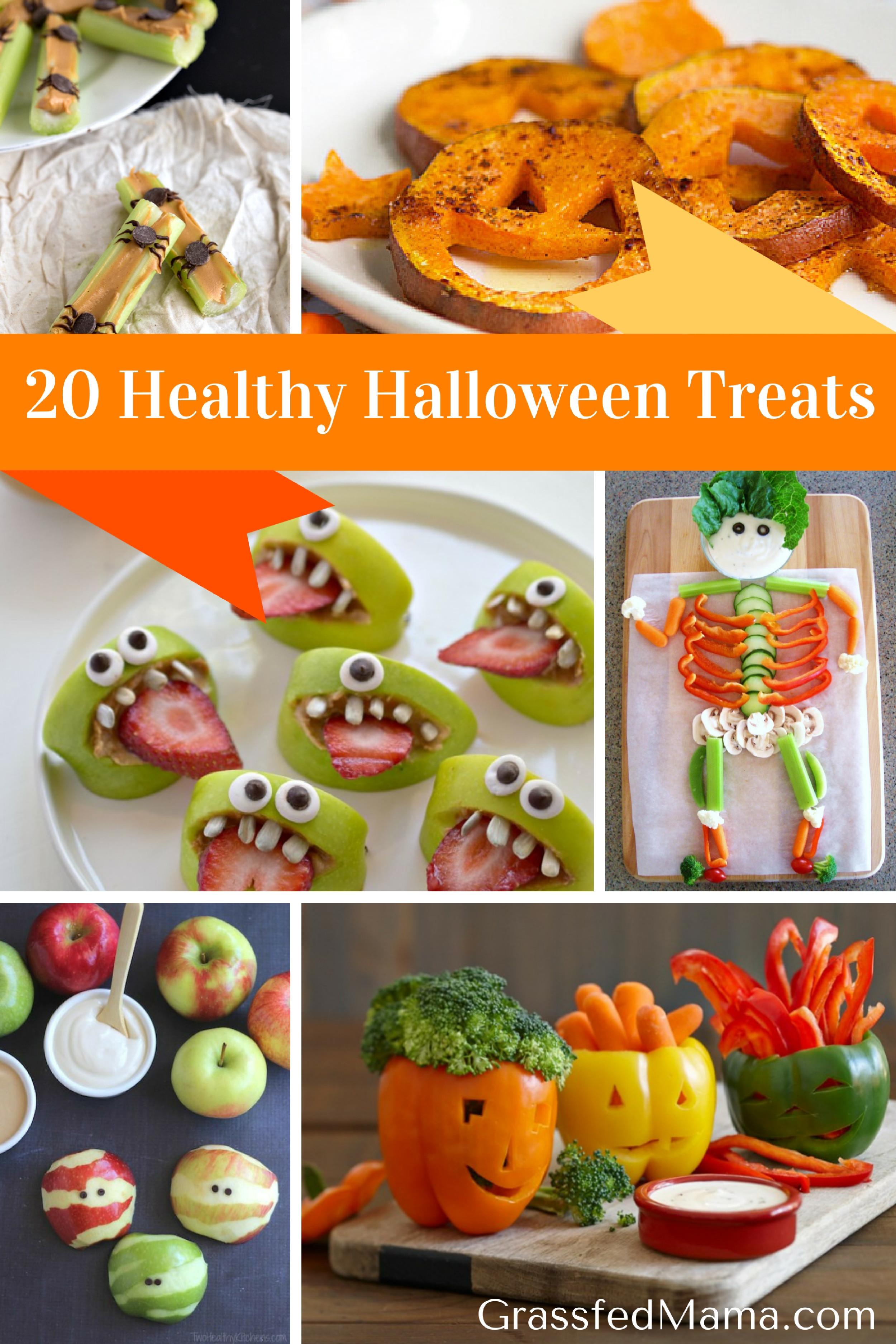 Healthy Halloween Desserts  20 Healthy Halloween Treats Grassfed Mama