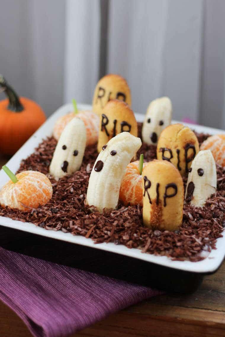Healthy Halloween Desserts  Healthy Halloween Dessert Dip Edible Graveyard