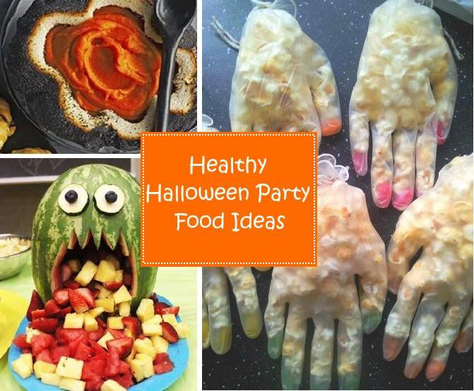 Healthy Halloween Party Snacks  Healthy Halloween Party Food Ideas