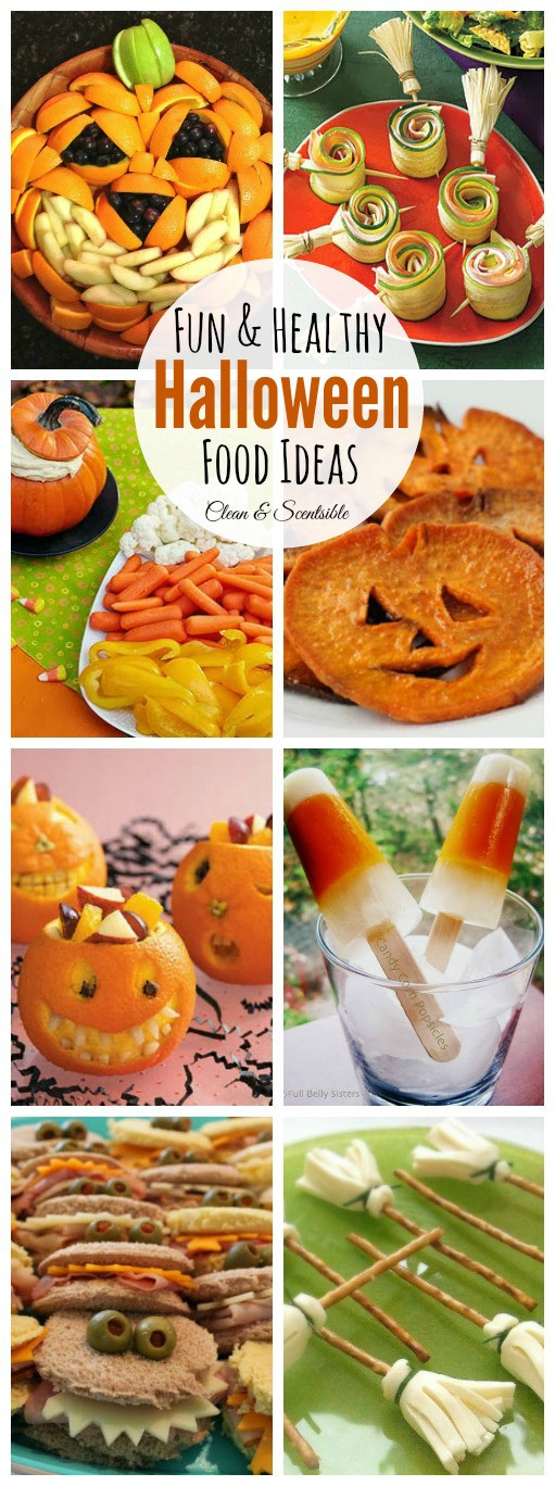 Healthy Halloween Party Snacks  Healthy Halloween Food Ideas Clean and Scentsible