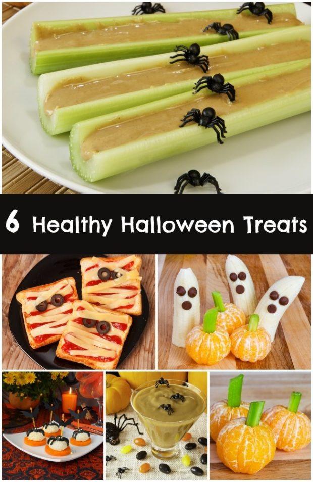 Healthy Halloween Party Snacks  6 Healthy Halloween Treats