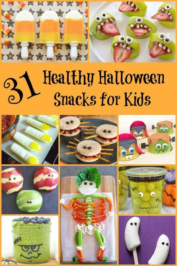Healthy Halloween Snacks For School  Healthy Halloween Snacks