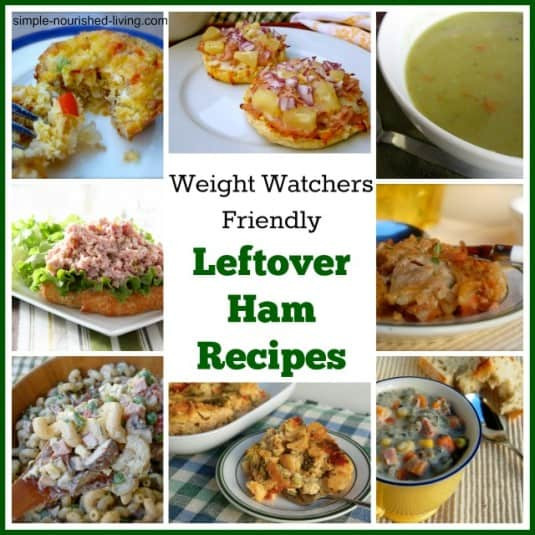 Healthy Ham Recipes  Easy Leftover Ham Recipes with Weight Watchers Freestyle
