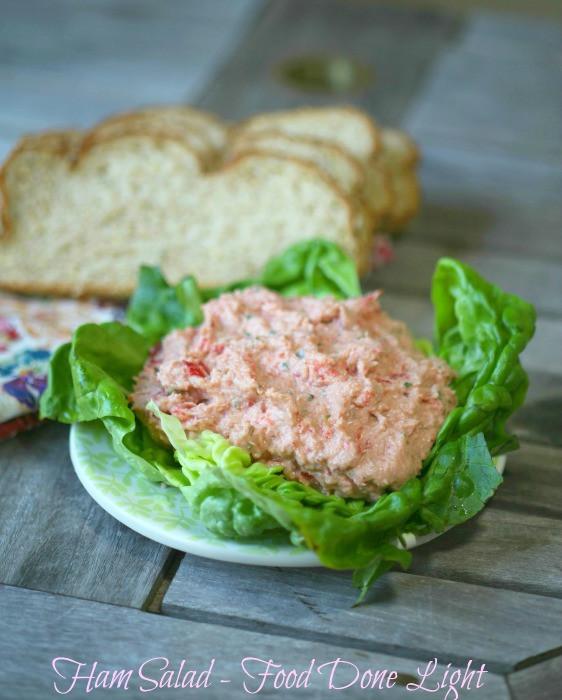Healthy Ham Recipes  healthy ham salad recipe