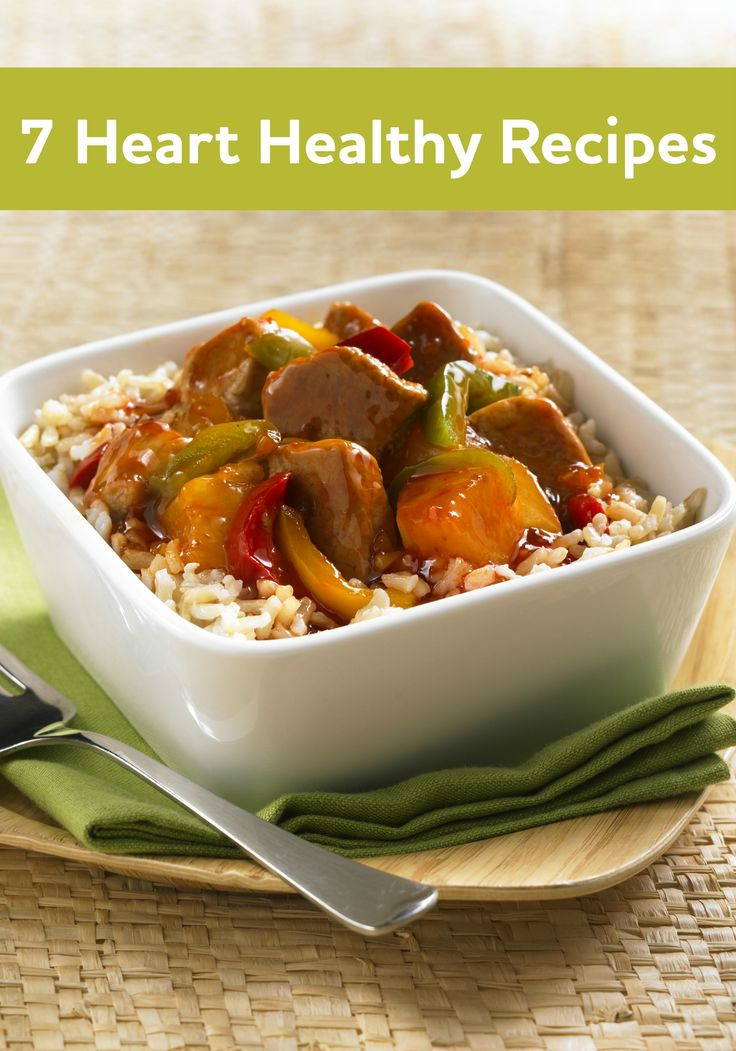 Healthy Heart Recipes  14 best images about Heart Healthy meals on Pinterest