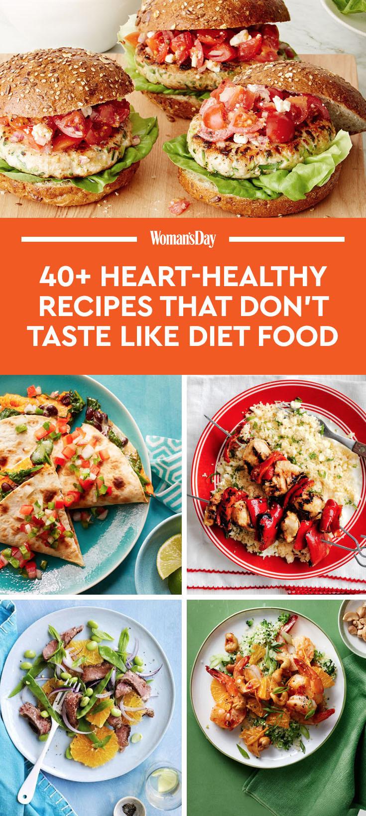 Healthy Heart Recipes  55 Heart Healthy Dinner Recipes That Don t Taste Like Diet