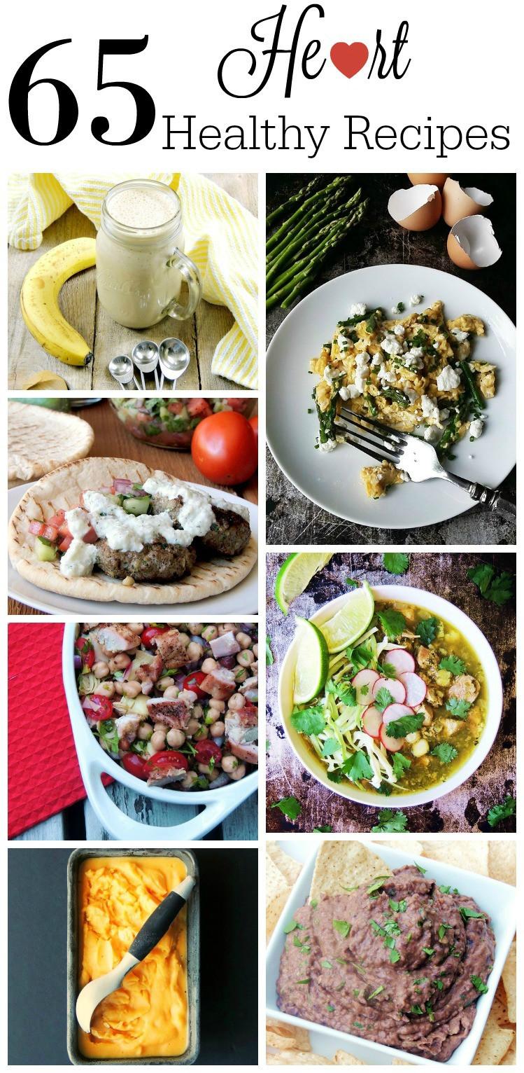 Healthy Heart Recipes  Sharing Advice FromTheHeart 65 Heart Healthy Recipes