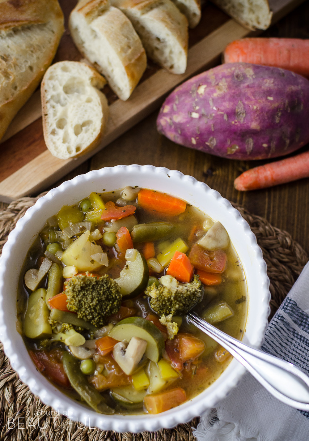 Healthy Hearty Soups  Hearty & Healthy Ve able Soup A Burst of Beautiful