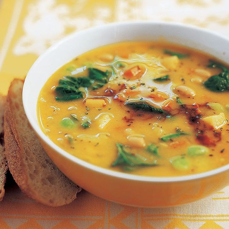 Healthy Hearty Soups  26 best images about Soups and Stews on Pinterest