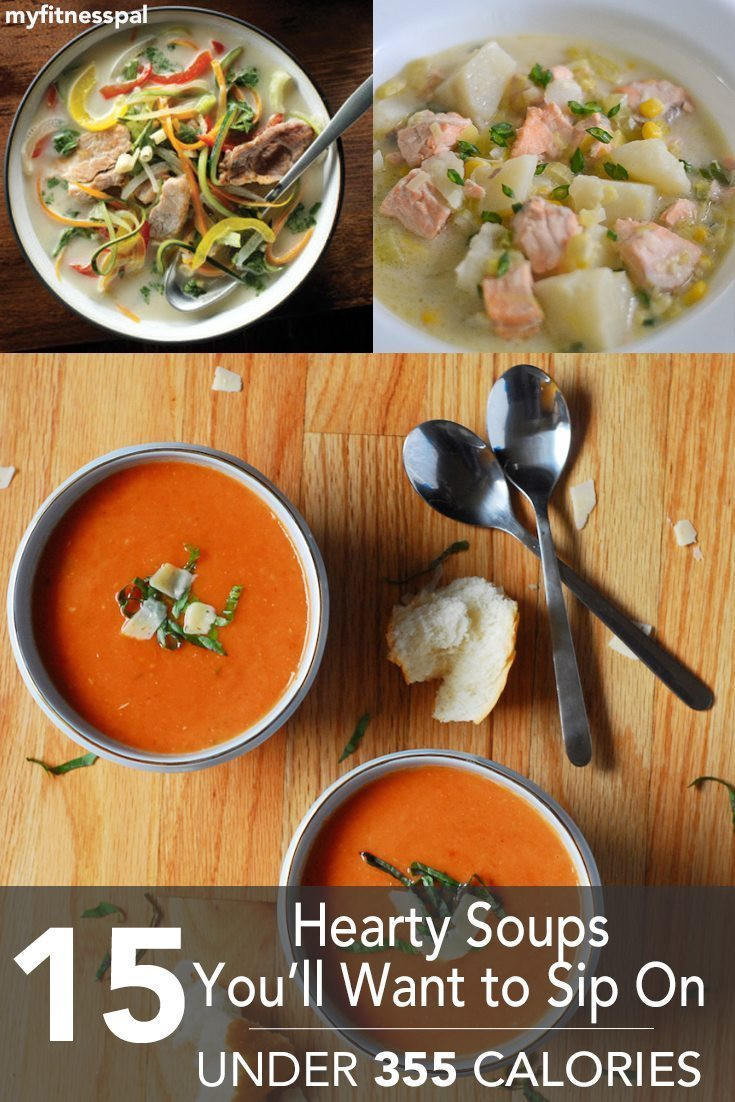 Healthy Hearty Soups  15 Hearty Soups You'll Want to Sip –Under 355 Calories
