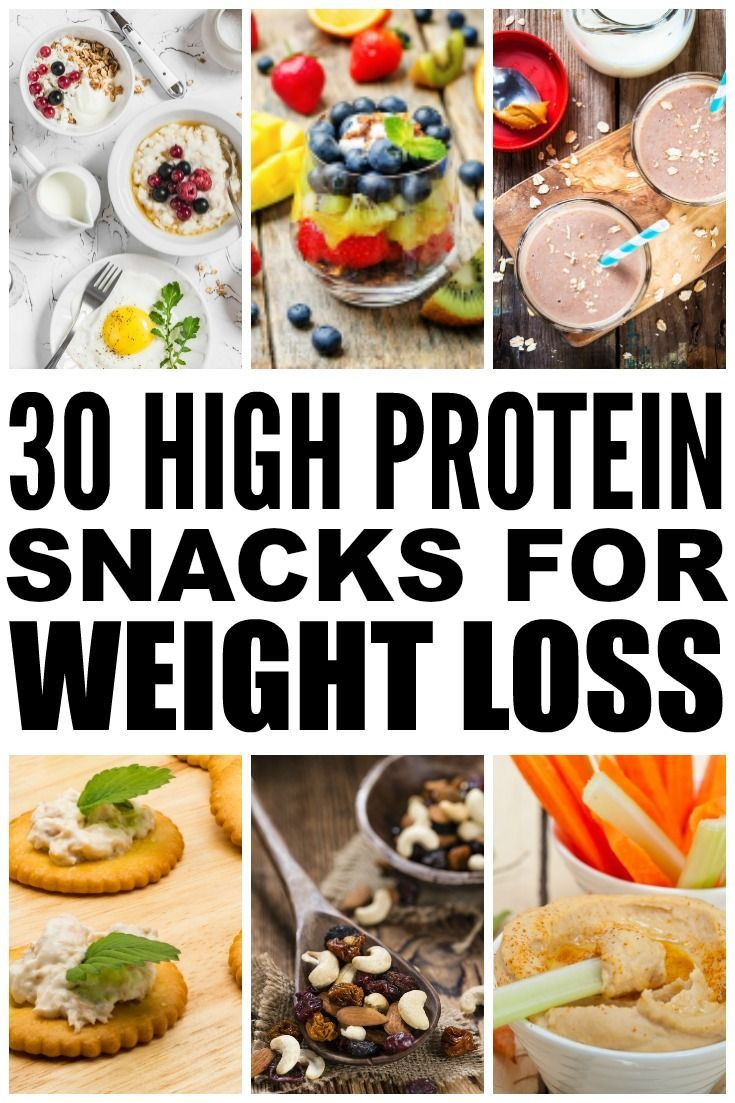 Healthy High Calorie Snacks  30 High Protein Snacks for Weight Loss