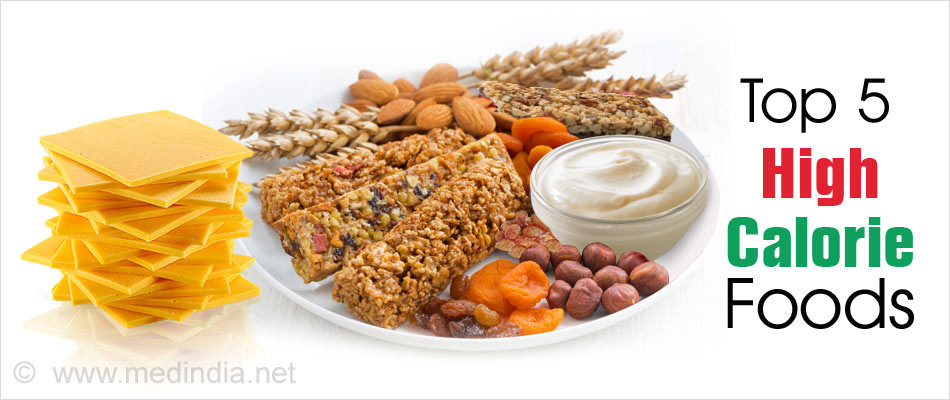 Healthy High Calorie Snacks  Top 5 Healthy High Calorie Foods