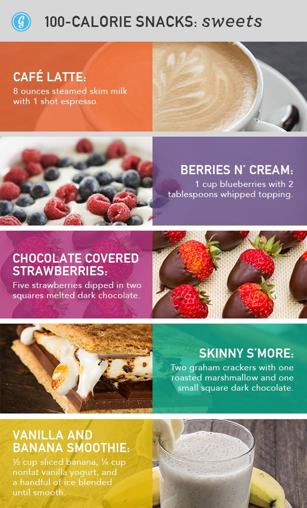 Healthy High Calorie Snacks  88 Unexpected Snacks Under 100 Calories