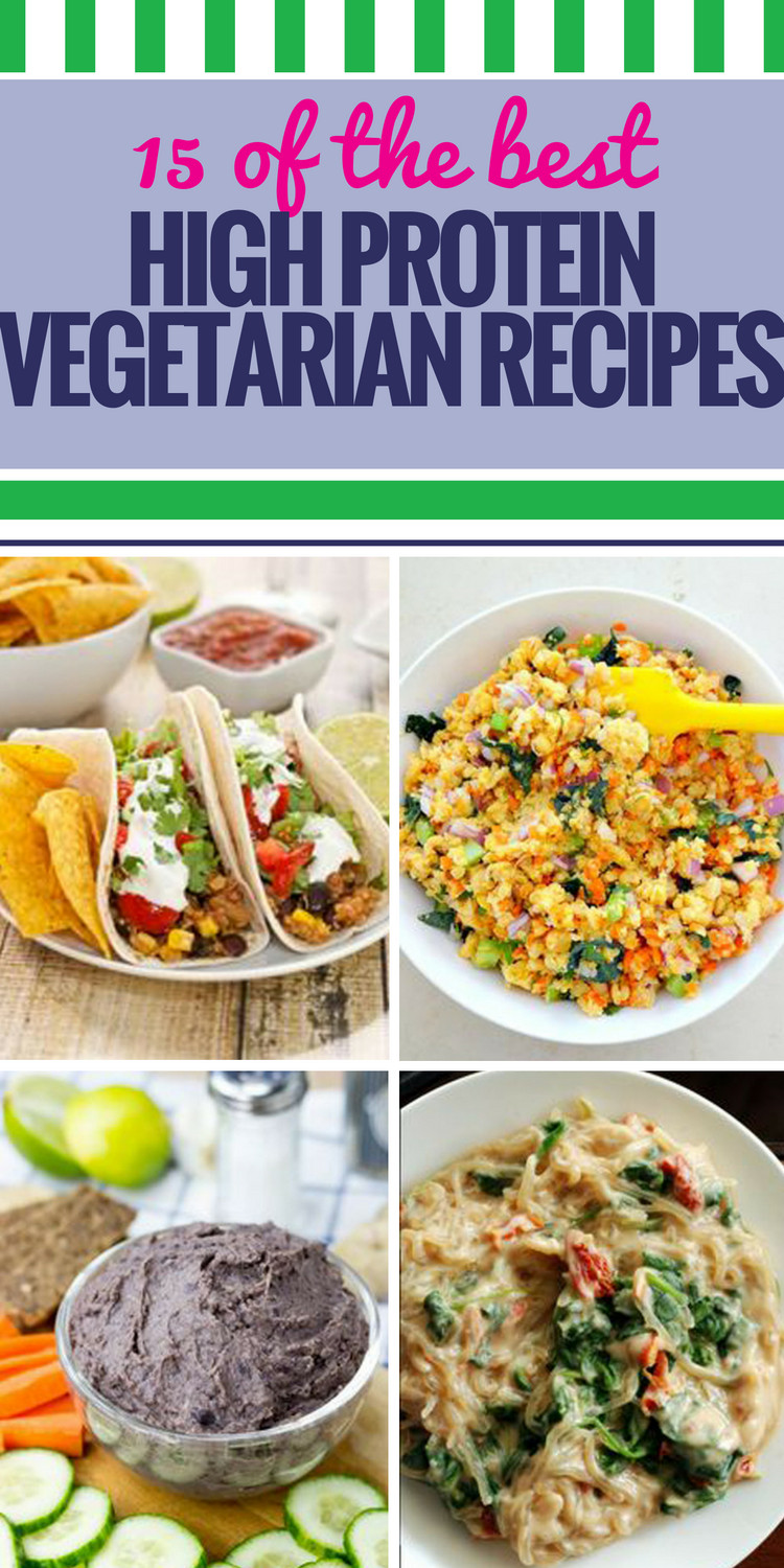 Healthy High Protein Vegetarian Recipes  15 High Protein Ve arian Recipes My Life and Kids