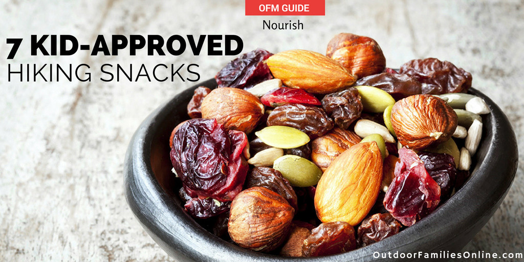 Healthy Hiking Snacks  Hiking Food 7 Delicious Kid Approved Hiking Snacks